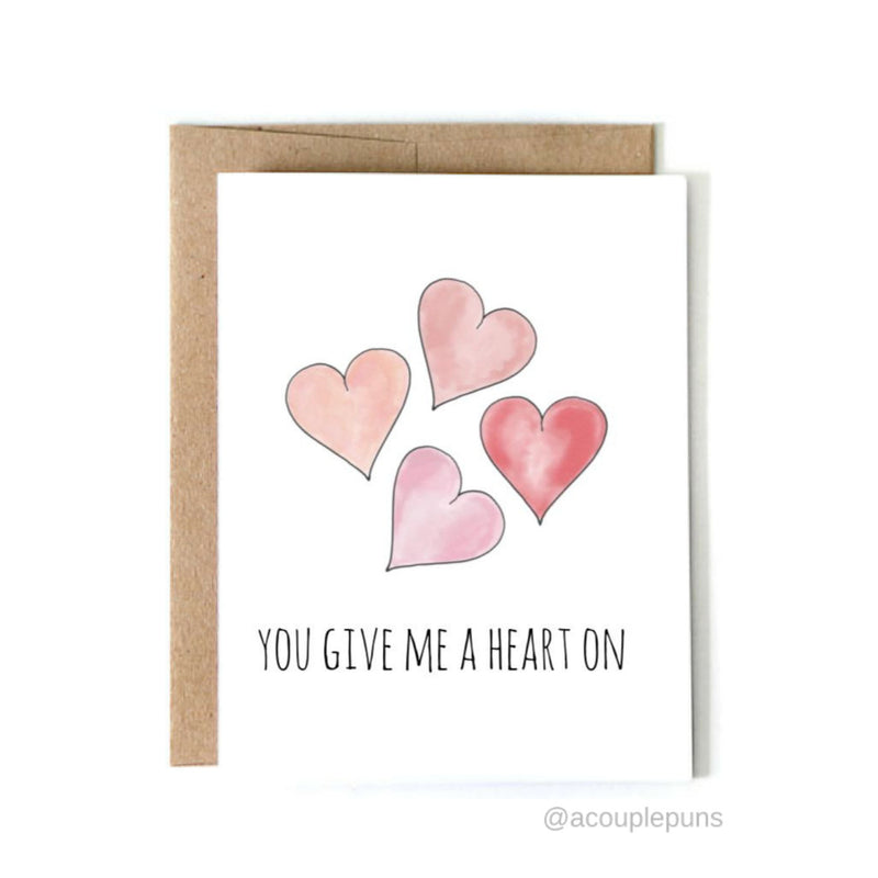 Heart On Card