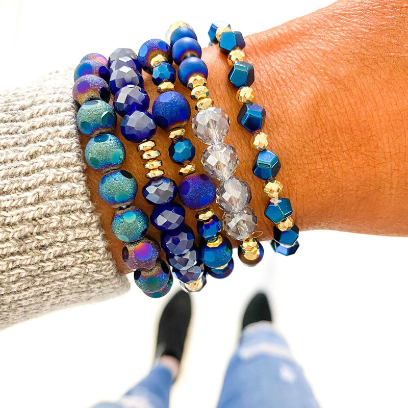 Midnight Navy Bracelet Stack