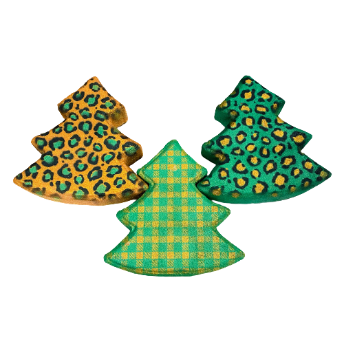Green/Gold Christmas Tree Bath Bombs