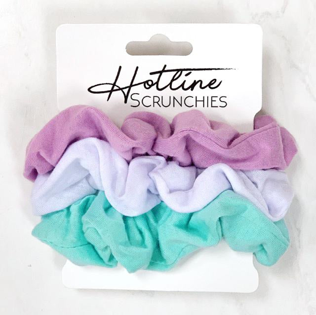 Hotline Comfy Scrunchies - Retro Tee