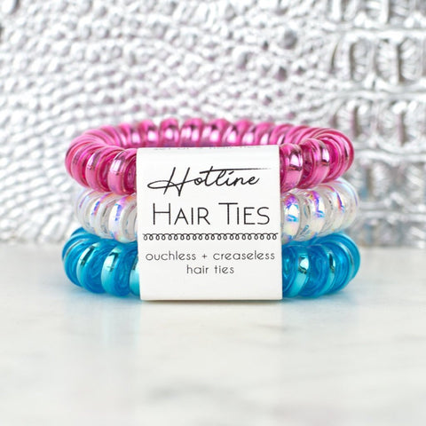 Hotline Hair Ties - Spring Breaker
