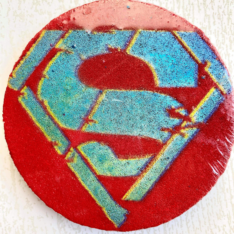 Superman Bath Bomb