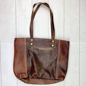 Finessa Leather Tote Bag