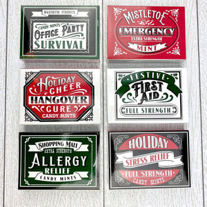 Holiday Pills Breath Mints