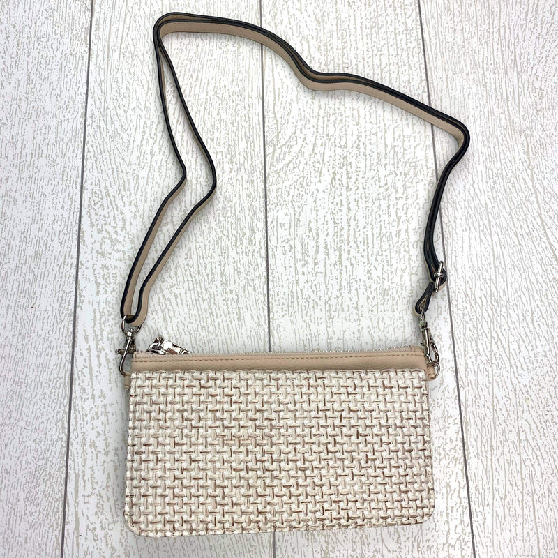 Eden Wallet/Crossbody - Oatmeal