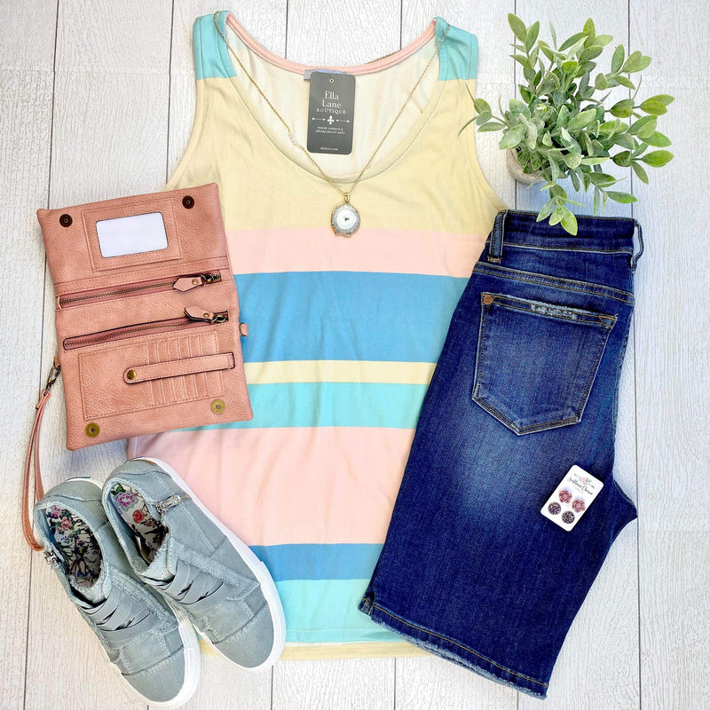 Ellie Striped Tank FINAL SALE