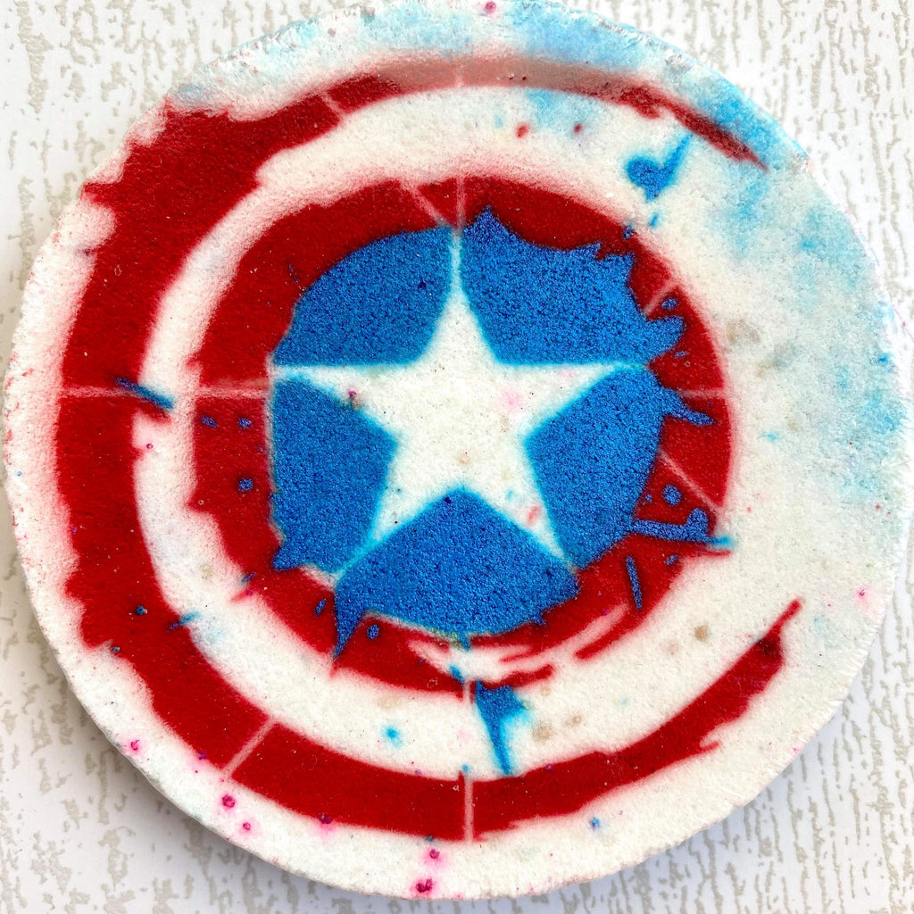 Captain America Bath Bomb