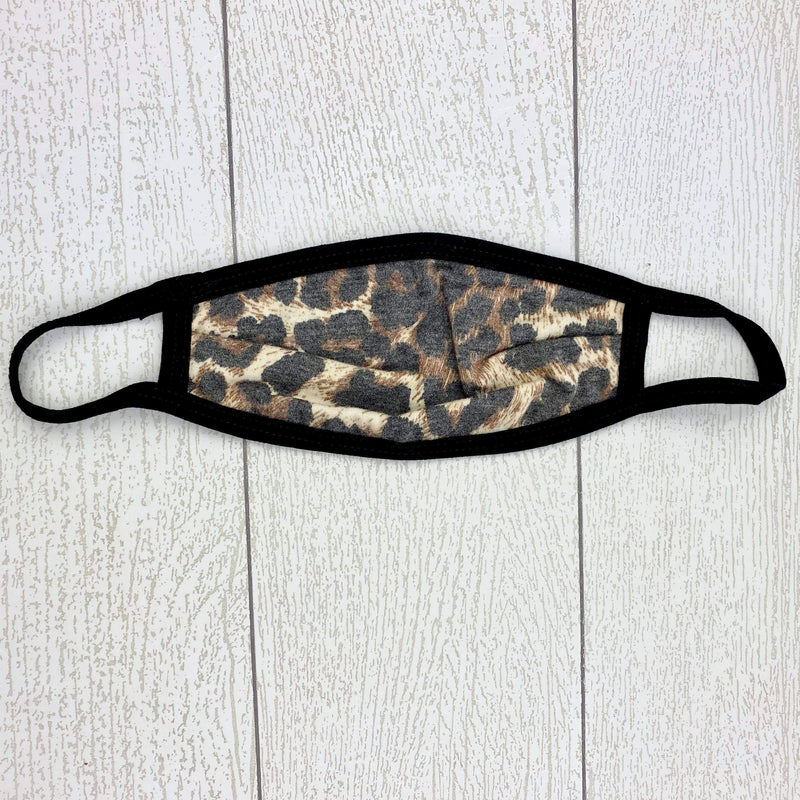 Kids Leopard Face Cover