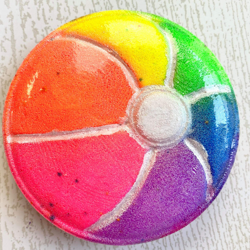 Neon Beach Ball Bath Bomb