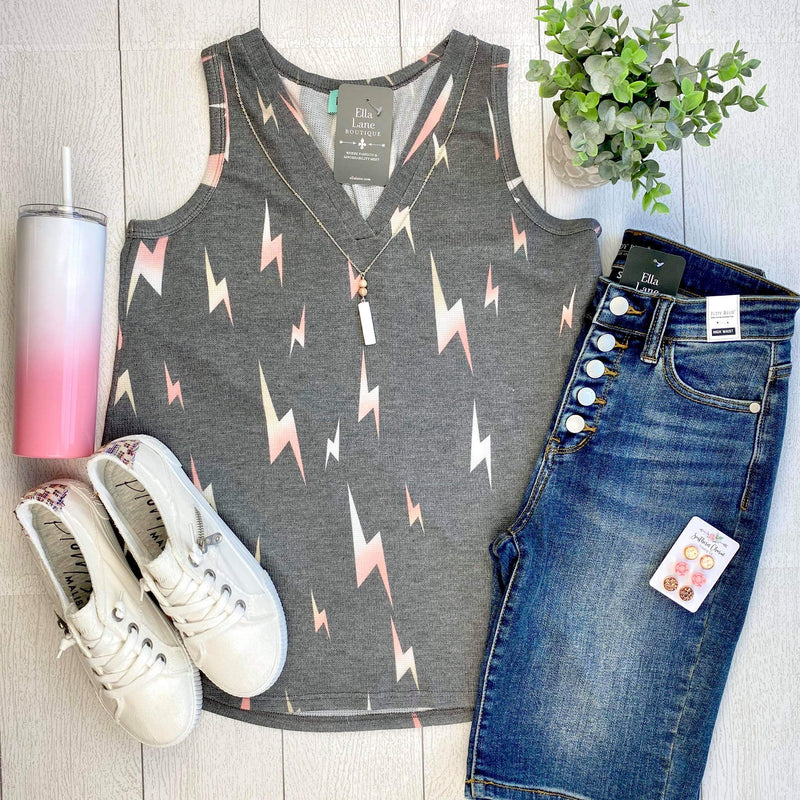 Lightening Bolt Tank