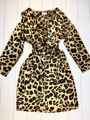 Leopard Robe FINAL SALE