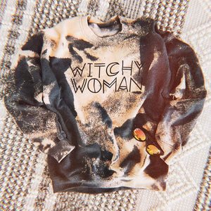 Witchy Woman Bleached Sweatshirt