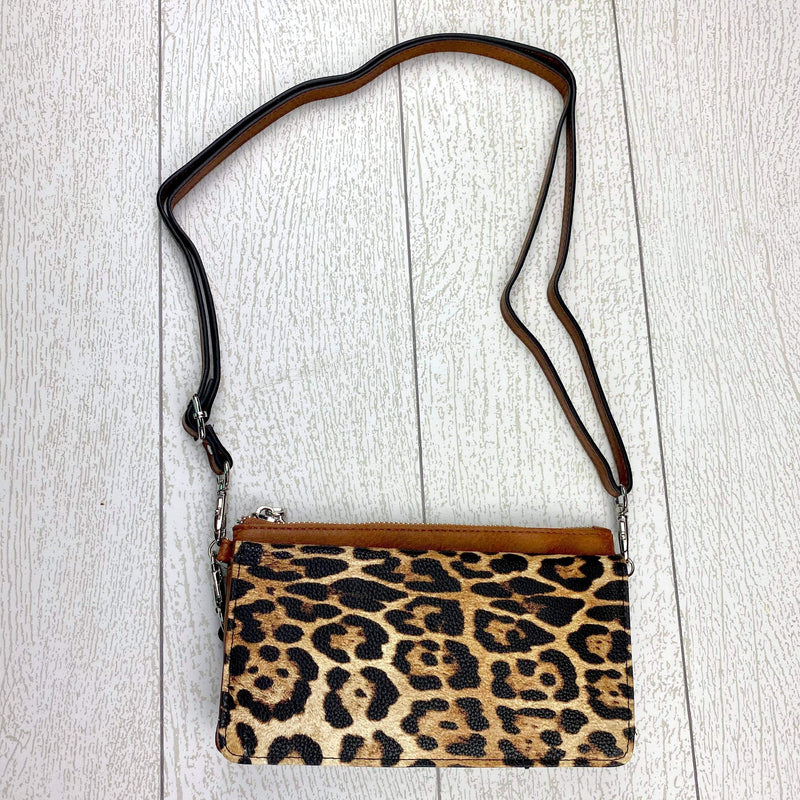 Eden Wallet/Crossbody - Leopard/Brown