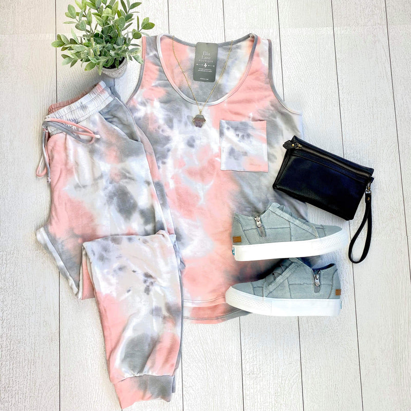 Talina Tie Dye Top/Pants Set