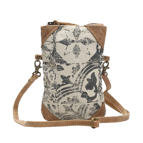 Mult Print Cross Body Bag