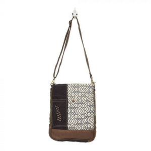 Design Pattern Shoulder Bag