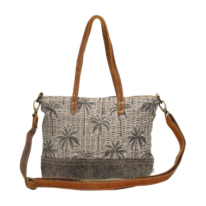Beach Palm Crossbody Bag
