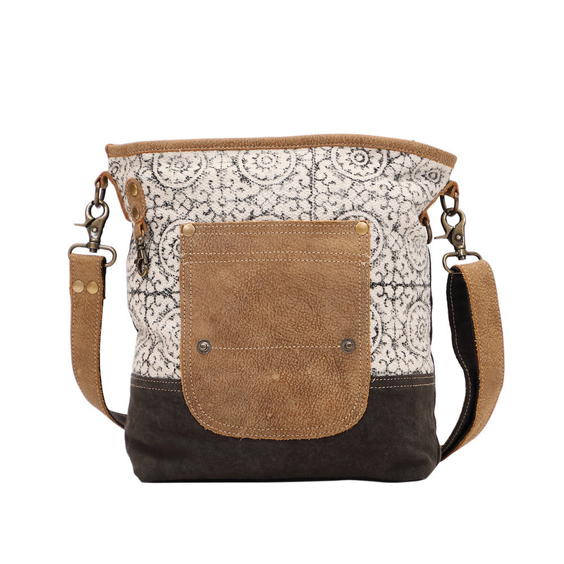 Pivot Print Shoulder Bag