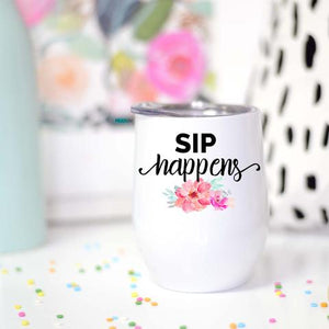 Sip Happens Wine Cup