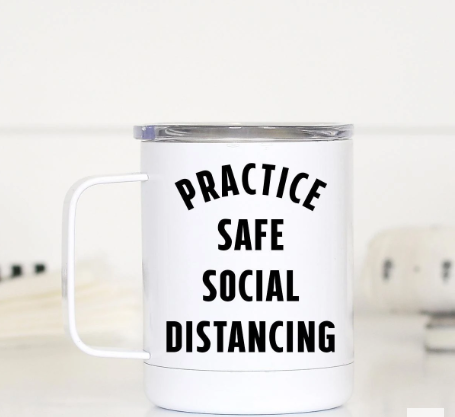 Social Distancing Travel Cup