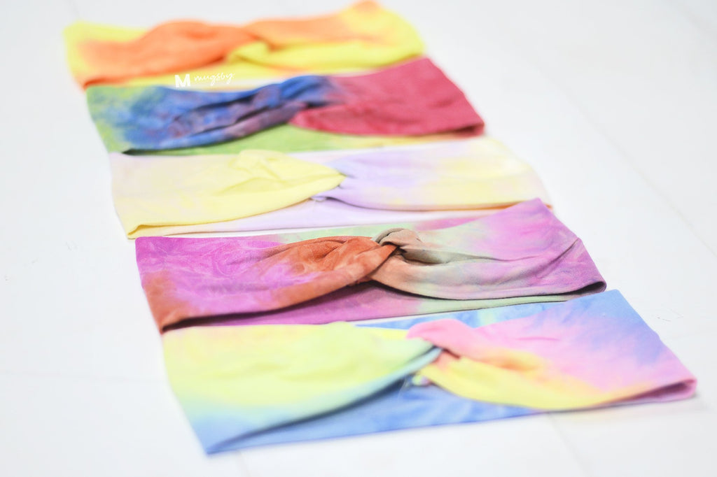 Tie Dye Headbands - Multiple Options