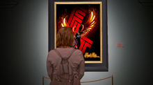 Load image into Gallery viewer, #ambition Frank Ruiz Wall Art