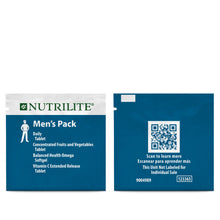 Load image into Gallery viewer, Nutrilite Men's Pack