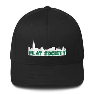 City-Scape Fitted Hat