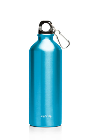 My Family 500ml Double Wall SS Bottle - Blue