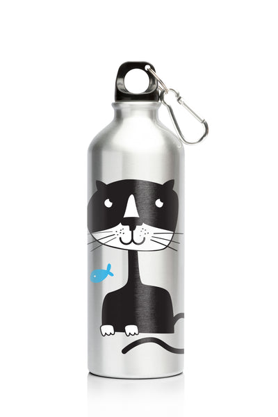 My Family 500ml SS Bottle - Cat