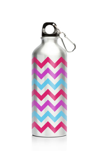 My Family 500ml SS Bottle - Chevron
