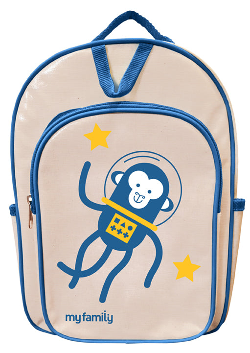 My Family Backpack Space Monkey