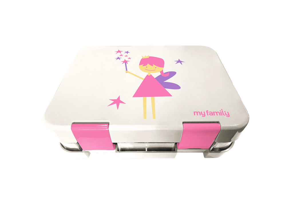 Z- My Family Super Bento Lunchbox Fairy - My Family Kids Brand