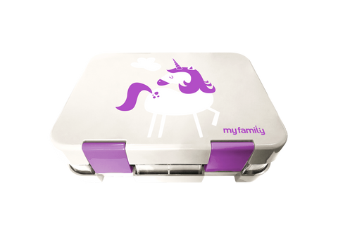 My Family Super Bento Lunchbox Unicorn