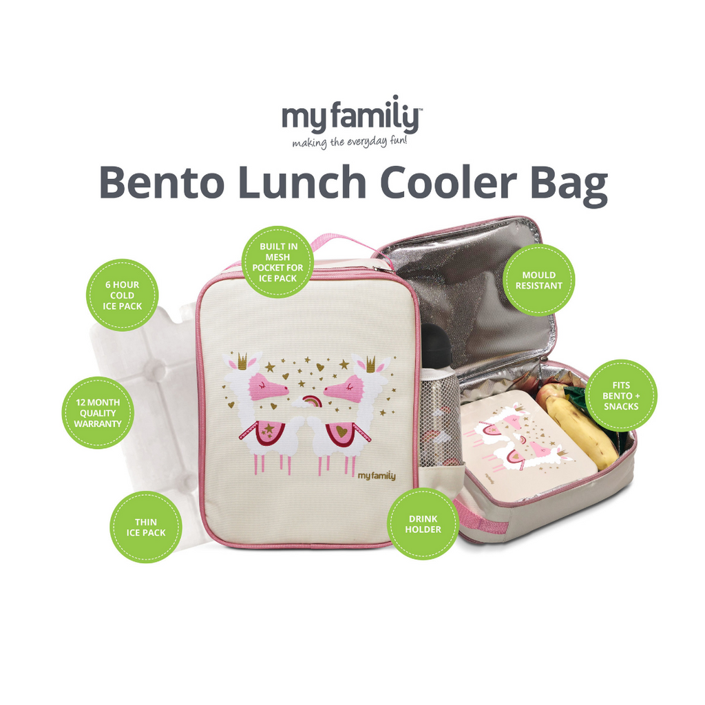 My Family Lunch Cooler Bag Spare Panel - My Family Kids Brand