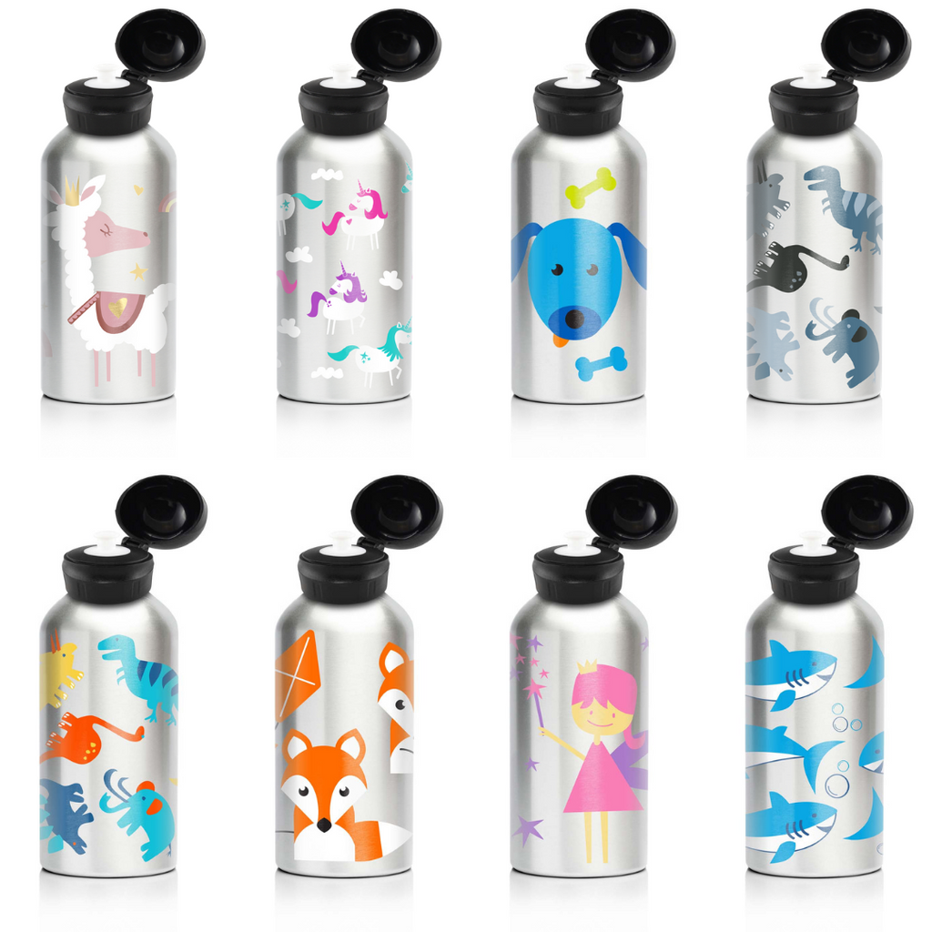 My Family 400ml Stainless Steel Bottles - My Family Kids Brand