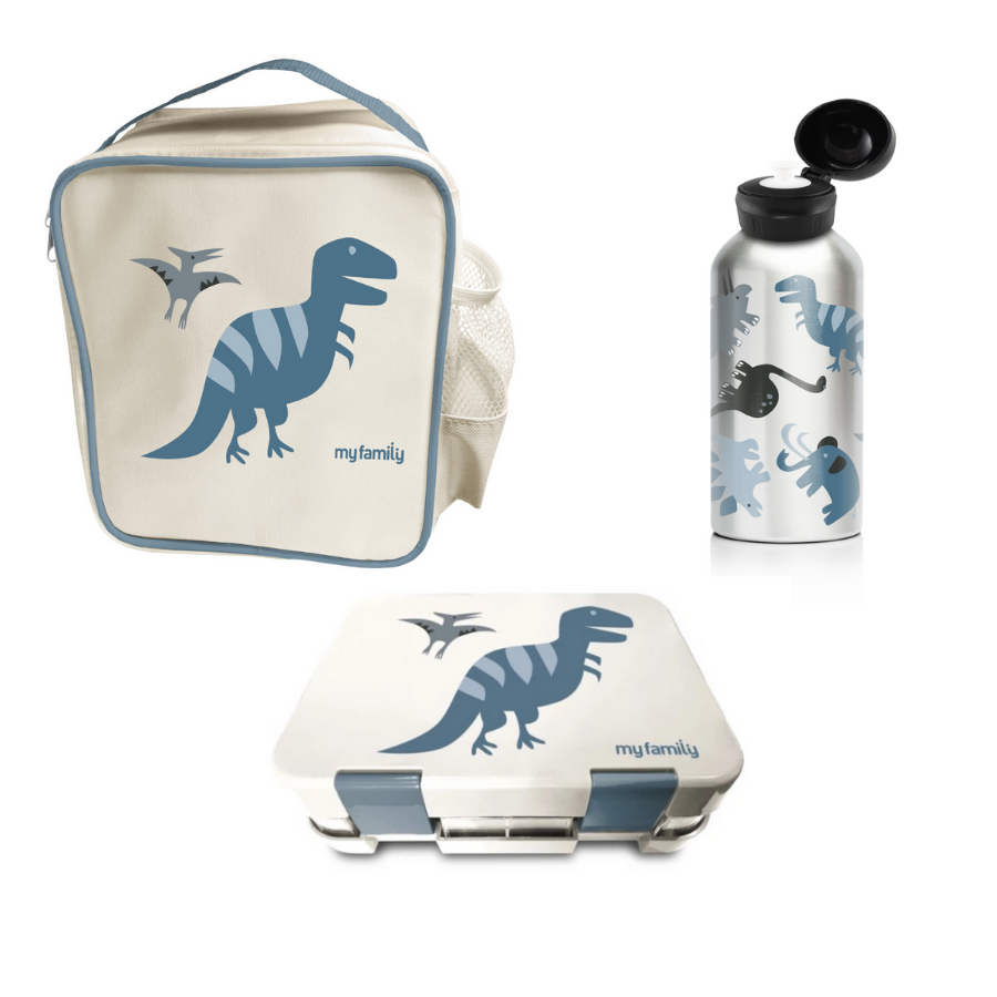 My Family School Lunch Combo Trex - My Family Kids Brand