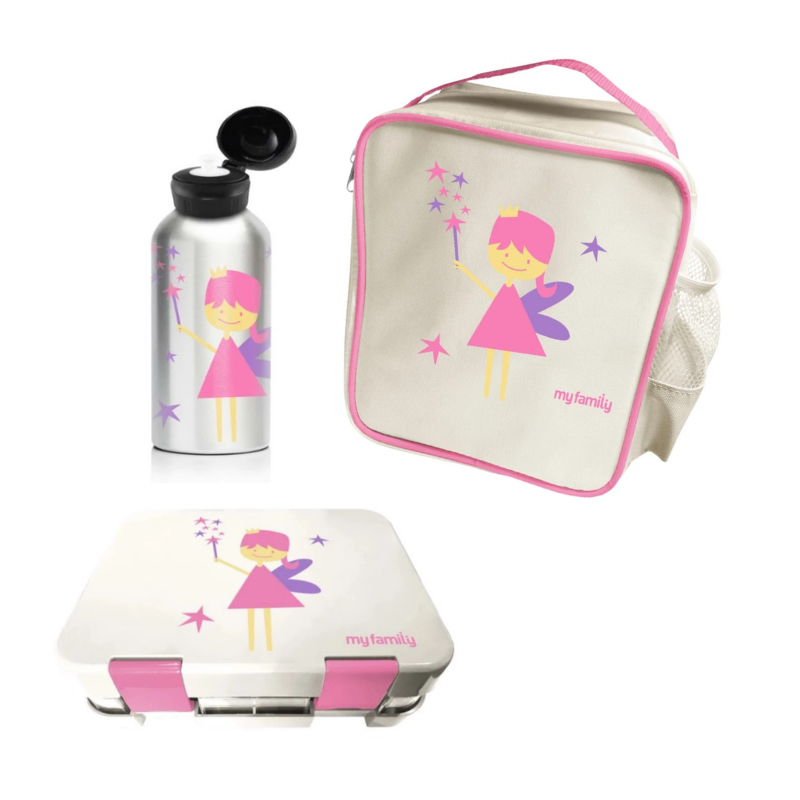 My Family School Lunch Combo Fairy [Super Bento] - My Family Kids Brand