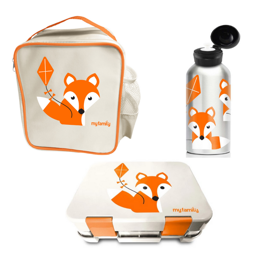 My Family School Lunch Combo Foxy - My Family Kids Brand