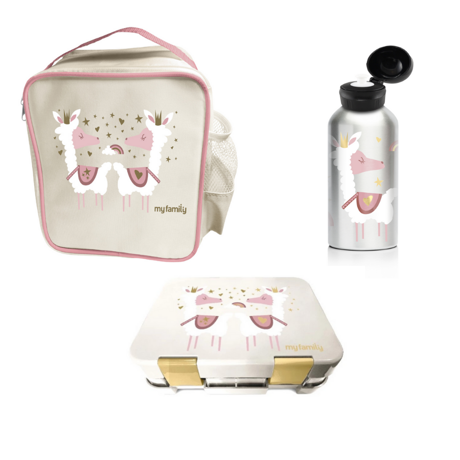 Llama - My Family Lunch Bundle - My Family Kids Brand