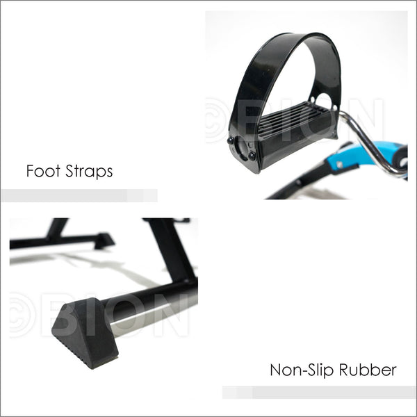 Foot Strap and Anti-Slip Rubber