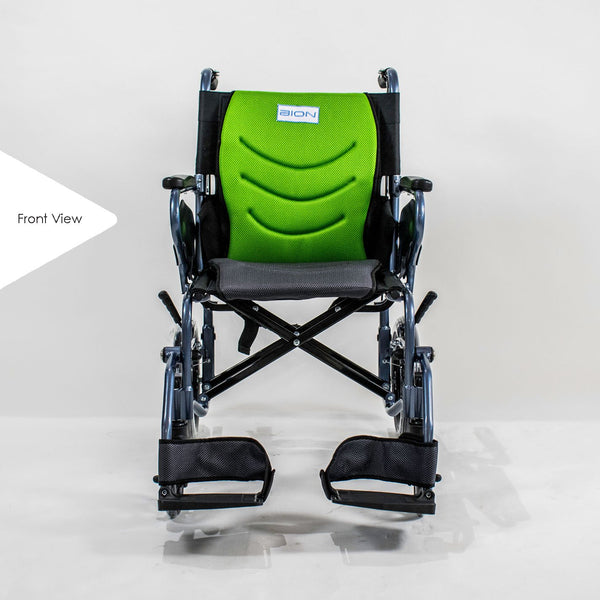 Wheelchair Front Profile