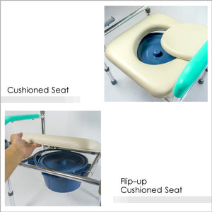 Flip-up Cushioned Seat
