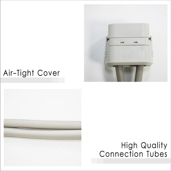 Air-Tight Cover and High Quality Connection Tubes