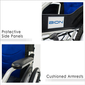 Protective Side Panels and Cushioned Armrests