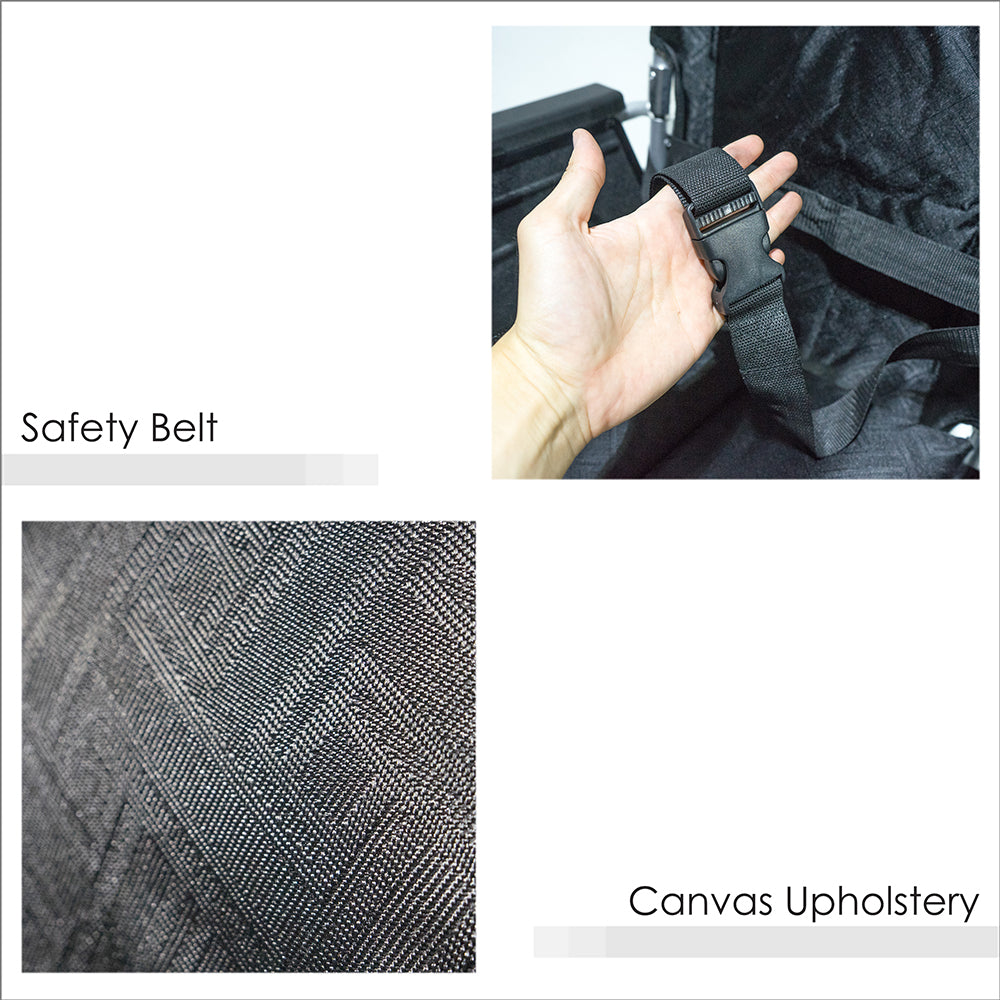 Safety Belt and Canvas Upholstery