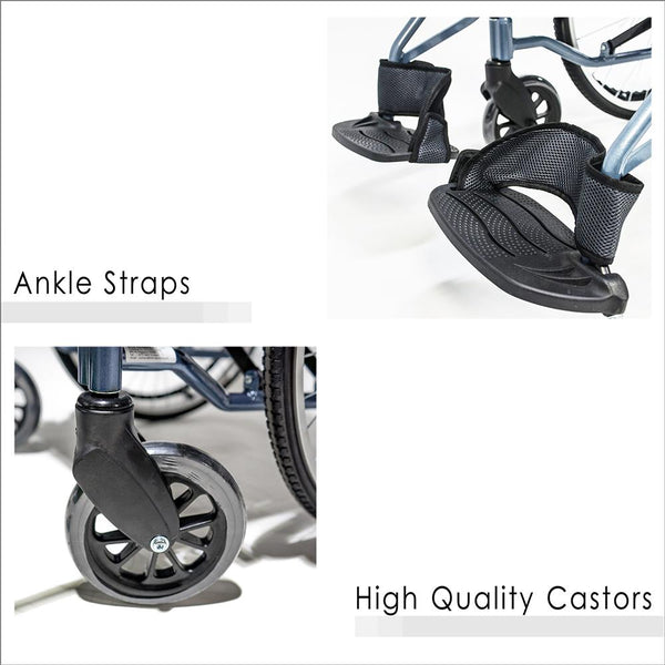 Ankle Straps and High Quality Castors