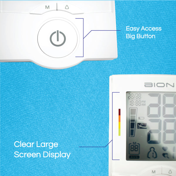BION Automatic Upper Arm Blood Pressure Monitor MA801f