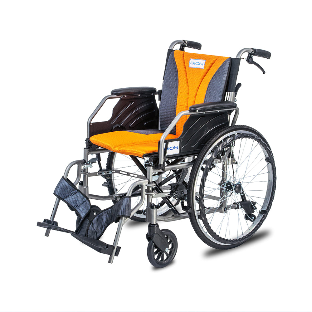 BION iLight Wheelchair Detachable 16'' With Tension Back (Quick Release Wheels)