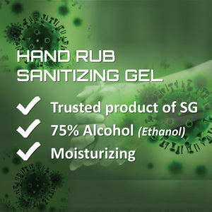BION Hand Sanitizer Gel 75% Alcohol 500ml